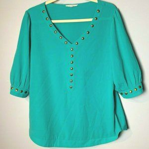 41 Hawthorn Stitch Fix Top Size XL Blouse Pullover